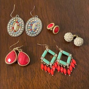 Lot of Boutique Style Earrings